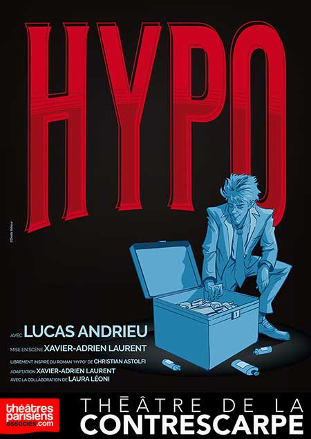Lucas Andrieu campe un jeune hypocondriaque
