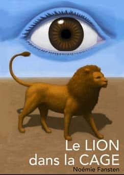Le lion dans la cage