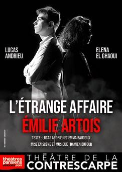 L'ÉTRANGE AFFAIRE ÉMILIE ARTOIS