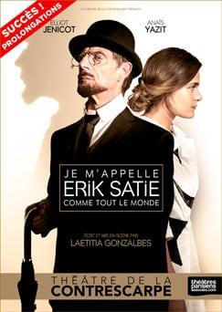 """""""Je m'appelle Erik Satie comme tout le monde», excellent spectacle au Théâtre de la Contrescarpe"""