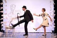 Elliot Jenicot et Anaïs Yazit dans un très beau numéro de danse