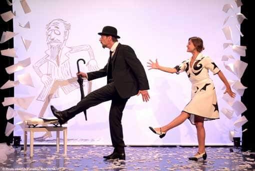 Découvrez le spectacle Erik Satie au théâtre de la contrescarpe