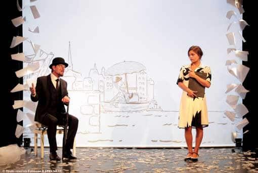 Splendide spectacle Erik Satie au théâtre de la Contrescarpe à Paris
