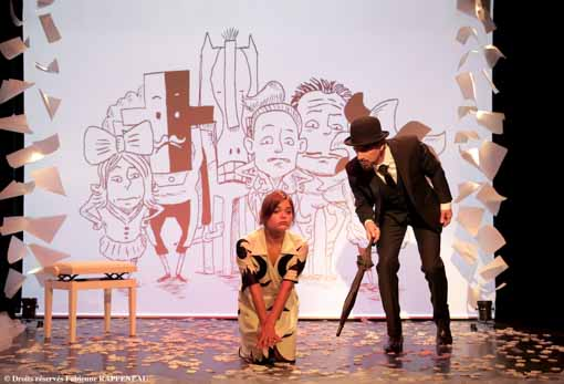 """""""Erik Satie"""" au Théâtre de la Contrescarpe : la vie et l'œuvre du compositeur."""