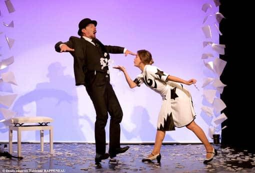 """Très joli spectacle, émouvant et drôle : """"Erik Satie"""" au théâtre de la Contrescarpe"""