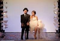 """mise en scene esthetique pour le spectacle """"je m'appelle erik satie comme tout le monde"""" au theatre de la contrescarpe"""